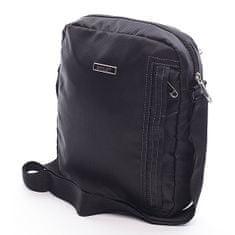 Diviley Černá pánská taška přes rameno Diviley Sven