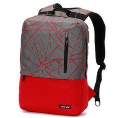 Travel plus Cestovní a turistický batoh, červeno-šedý