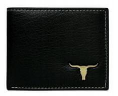 Buffalo Wild Pánská peněženka na šířku z kůže Jack, černá