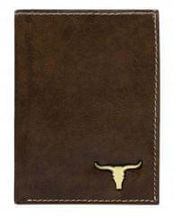 Buffalo Wild Originální pánská peněženka Buffalo Nicholas , hnědá