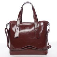 Silvia Rosa Elegantní dámská kabelka do ruky Paula, červená