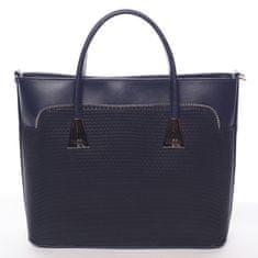 Maggio Vzorově elegantní dámská kabelka Abigail, modrá