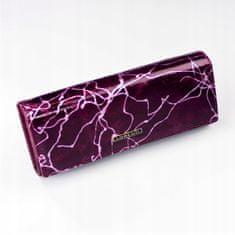 Lorenti Elegantní kožená peněženka Rio, fialová