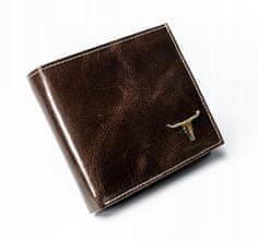 Buffalo Wild Pánská peněženka z přírodní kůže Trevor, hnědá