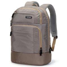 Travel plus Městský batoh na notebook Travel Plus, béžový