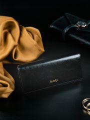 Rovicky Klasická dámská kožená peněženka Ruby, černá