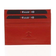 Bellugio Kožená peněženka na doklady Miroslava červená