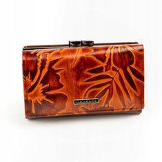 Cavaldi Originální kožená peněženka Clara, hnědá
