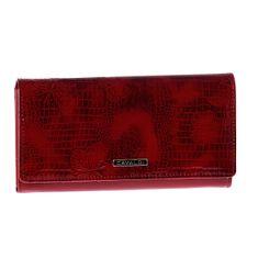 Cavaldi Luxusní dámská peněženka červená Cavaldi Paloma