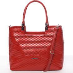 Annie Claire Trendy dámská kabelka Iness, červená