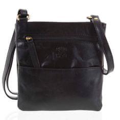Always Wild Pánská kožená taška Teodoro černá