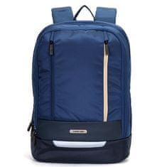 Travel plus Studentský cestovní batoh Travel plus, modrý