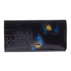 Cavaldi Stylová kožená peněženka Marilú, modrá