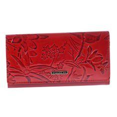 Cavaldi Kožená dámská peněženka Mariana, červená