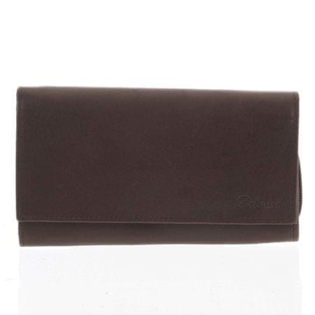 Delami Dámská kožená peněženka Miracle, hnědá