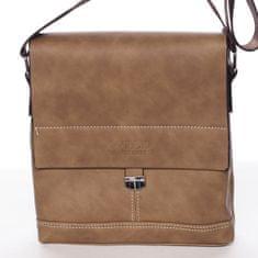 Wild Modní pánská taška přes rameno Lucien, khaki