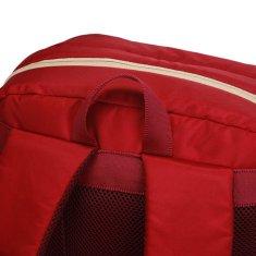 Travel plus Školní batoh Travel plus, červený