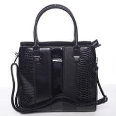 Silvia Rosa Luxusní dámská kabelka Wendy, černá