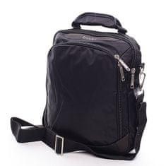 Diviley Pánská černá taška přes rameno Diviley Ted
