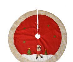 DUE ESSE Karácsonyfatartó borítás Ø 100cm, Santa