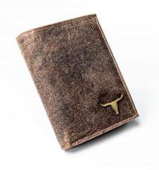 Buffalo Wild Kožená pánská peněženka Buffalo Wild, světle hnědá