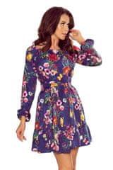 Numoco Květované šaty s volánky
