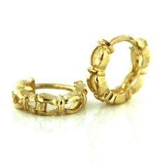 Amiatex Zlaté náušnice 13448