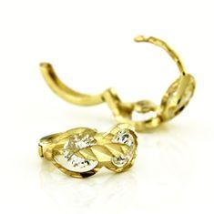 Amiatex Zlaté náušnice 13441