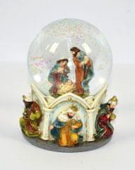 DUE ESSE Hrající sněžítko betlém na stůl