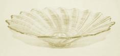 DUE ESSE steklena posoda, Ø 39 cm, zlat odtenek