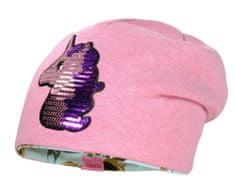 Maximo dievčenská obojstranná čiapočka