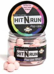 Dynamite Baits Pop-Up Boilies Hit n Run 35g 12mm Pastel Pink