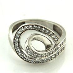 Amiatex Zlatý prsteň 13519 + Nadkolienky Sophia 2pack visone