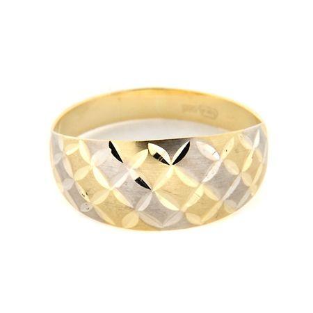 Amiatex Arany gyűrű 13492 + Nőin zokni Gatta Calzino Strech, 52, 1.7 G
