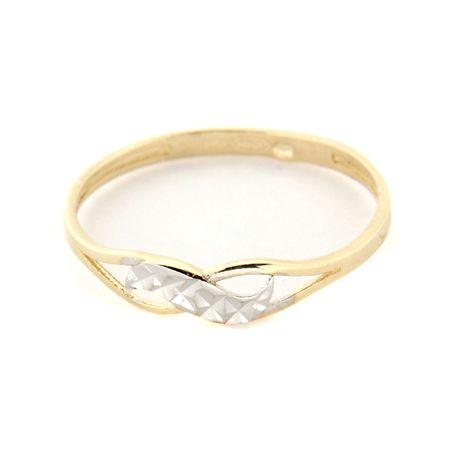 Amiatex Arany gyűrű 16786 + Nőin zokni Gatta Calzino Strech, 56, 1.25 G