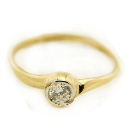 Amiatex Arany gyűrű 15991, 54, 1.3 G