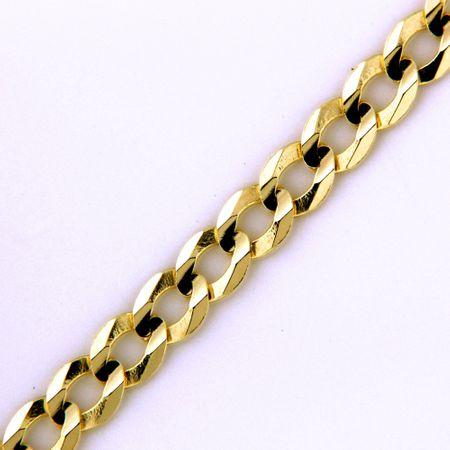 Amiatex Arany nyaklánc 17285 + Nőin zokni Gatta Calzino Strech, 18, 2.97 G