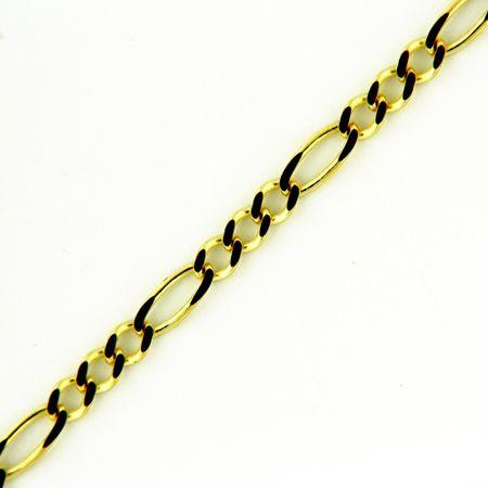 Amiatex Arany nyaklánc 17280 + Nőin zokni Gatta Calzino Strech, 18, 1.31 G