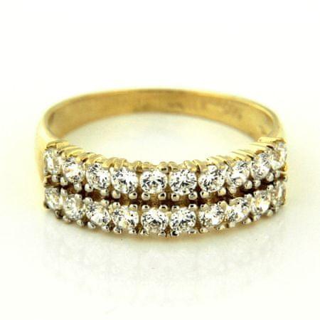 Amiatex Arany gyűrű 25232, 60, 2.7 G