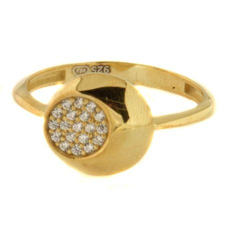 Amiatex Zlatý prsten 41416 + dárek zdarma, 55, 2.4 G
