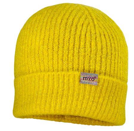 Maximo dětská čepice 55 žlutá