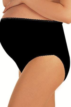 ITALIAN FASHION Těhotenské kalhotky Mama maxi black, černá, XL