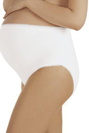 ITALIAN FASHION Damska bielizna ciążowa Mama maxi white, biały, XXL