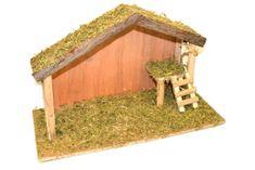 DUE ESSE Fából készült jászol létrával, 40 x 23 cm