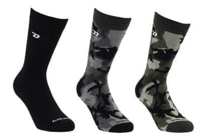 Diesel Ray muške čarape, 3 komada, 35 - 38, višebojne