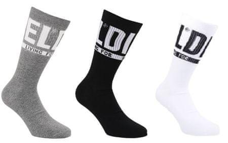 Diesel Ray férfi zokni hármas csomagolásban 35 - 38 színes