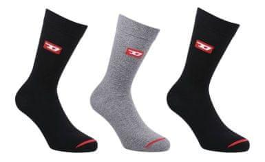 Diesel Ray moške nogavice, 3 kosi, 35 - 38, večbarvne