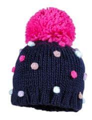 Maximo czapka dziewczęca z pomponami