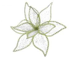 Kaemingk cvijet s kopčom, 20 x 13 cm, zlato