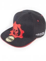 Gears of War sültös sapka- Red Helmet Snapback